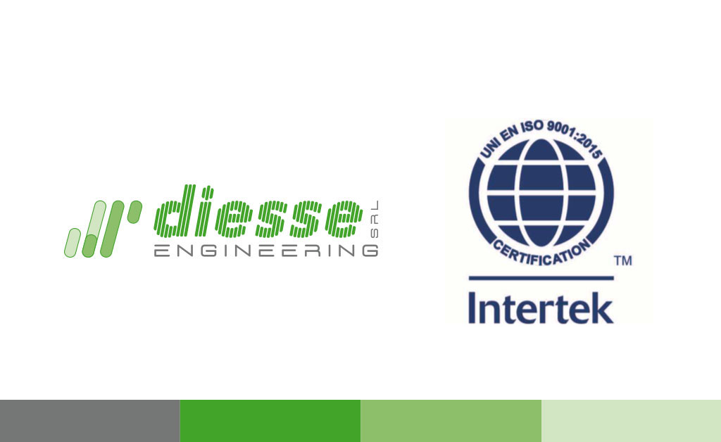 Diesse engineering certificata ISO 9001