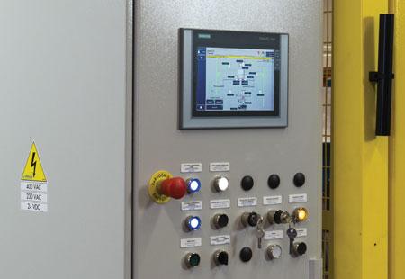 Sistemi diautomazione industrialerealizzati su misura