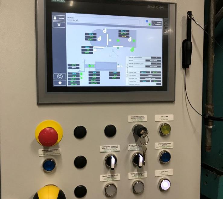 Un nuovo livello di efficienza tecnologica: revamping completo di una macchina rotazionale